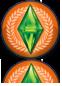 Ícone reflexo The Sims 3 Vida Universitária