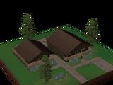 Cabana Florestal com Anexo