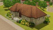 Casa do Copo-de-Leite, fachada
