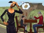 Família Caixão - The Sims 2