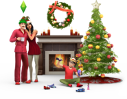 Pacote de Festas de Fim de Ano -Render 1