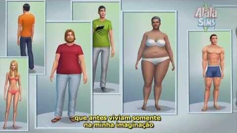 The Sims 4 Official Gameplay Trailer Legendado
