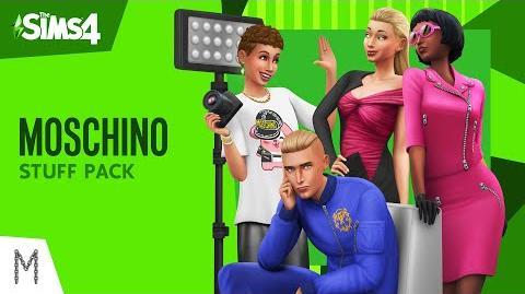 The Sims™ 4 Moschino Coleção de Objetos Trailer Oficial