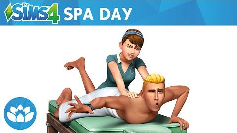 The Sims 4 Spa Day Trailer Oficial