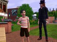 Vladmir e Gusmão em The Sims 3
