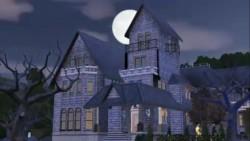 Casa dos Caixão no The Sims 3