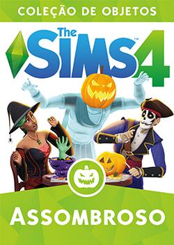 Capa The Sims 4 Assombroso (Primeira Versão)