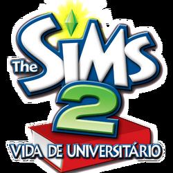 Logo The Sims 2 Vida de Universitário