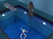 Morte por afogamento..