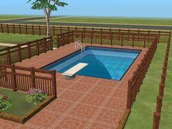 Sims 2 Piscina