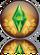 Ícone reflexo The Sims 3 Gerações
