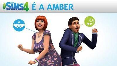 The Sims 4 É a Amber - Histórias Estranhas Trailer Oficial-1