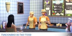 Carreira Funcionário de Fast Food
