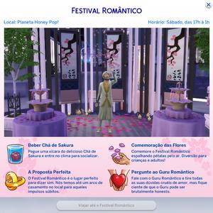 Cartão Festival Romântico