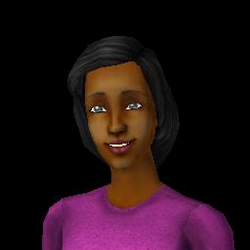 Darlene nas Nuvens (The Sims 2)