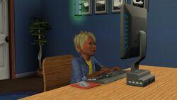 Escrita Sims3