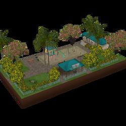 Parque Pequeno (Isla Paradiso)