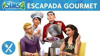 The Sims 4 Escapada Gourmet Trailer Oficial