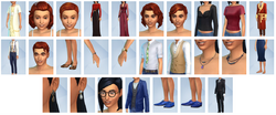 The Sims 4 - Glamour Vintage (Itens 1)