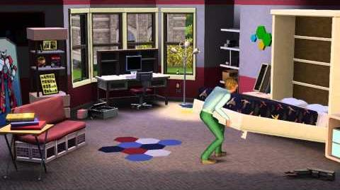 The Sims 3 University Life -- Announce Trailer