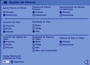 Opções de Câmera TS2
