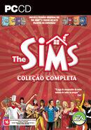 Capa The Sims Coleção Completa