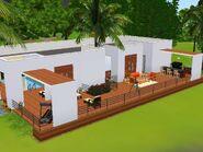 A Casa Construída pelo Amor (fundos)