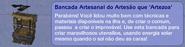 Bancada Artesanal do Artesão que 'Artezoa' (descrição)