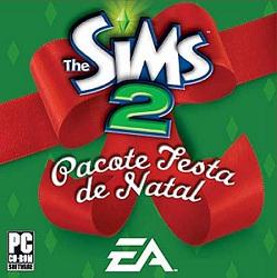 Capa The Sims 2 Pacote Festa de Natal