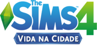 Logo The Sims 4 Vida na Cidade (Primeira Versão)