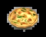 Quiche de Espinafre e Cogumelos