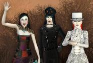 Sarah, Lucien e Odessa (página inicial Store)