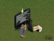 Anjo da Morte em The Sims