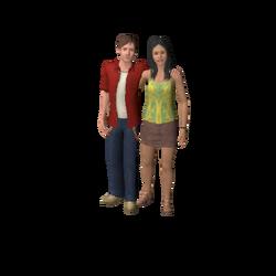 Família Subúrbio The Sims 3