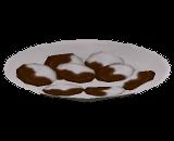 Biscoitos Meio a meio