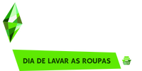 The Sims 4 - Dia de Lavar as Roupas (Logo)