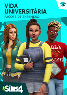 Capa The Sims 4 Vida Universitária