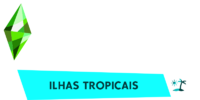 The Sims 4 - Ilhas Tropicais (Logo)