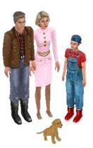 Família Subúrbio The Sims
