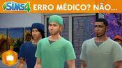 The Sims 4 Ao Trabalho Erro Médico