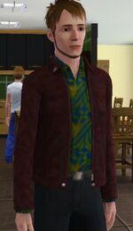 Roberto Novato em The Sims 3