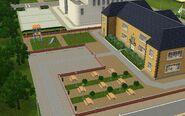 Academia do Arrastão, pátio