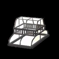 Centro de Telhado de Estufa (Thumbnail)