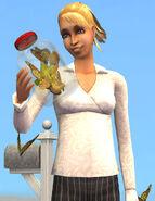 Samanta Orly no jogo