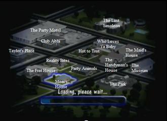 Mapa de SimValley