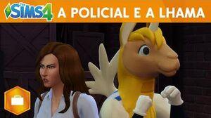 The Sims 4 Ao Trabalho A Policial e A Lhama