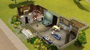 Casa do Copo-de-Leite, primeiro andar