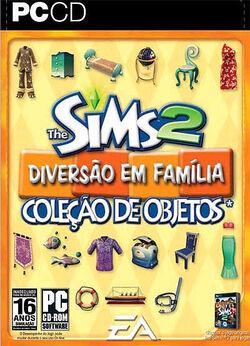 Capa The Sims 2 Diversão em Família