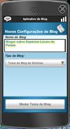 Aplicativo de Blog Notícias