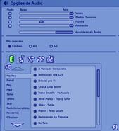 Opções de Áudio TS2